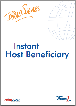 free e-book instant host beneficiary