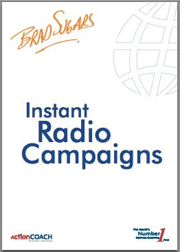 free e-book instant radio campaigns