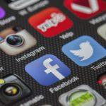 social media twitter facebook